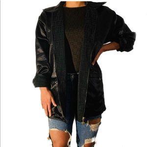 UNISEX FENDI Monogram reversible jacket, one size